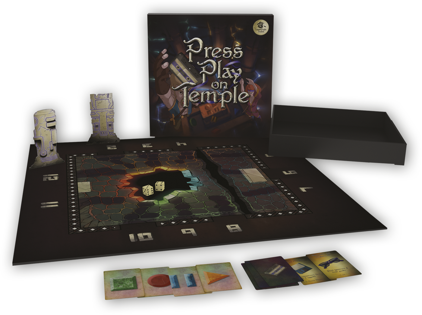 Press Play on Temple, the game